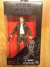 Star Wars Han Solo Black Series # 18 - Star Wars The Force Awakens - 6""