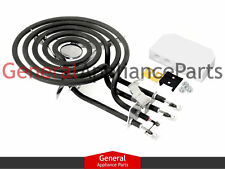 "GE Hotpoint Range Stove Cooktop 6"" Burner Heating Element Kit WB30X342 WB30X0342"