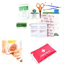 38 Pieces Luxury FIRST AID KIT Bag Includes Tweezers Sterile gauze - Travel Car