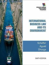 NEW - Free Ship - International Business Law & Its Environment by Schaffer (9E)