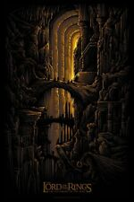 Lord of the rings fellowship of the ring alt movie poster dan mumford no./200