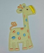 PATCH GIRAFE BABY  ÉCUSSON BRODÉ  THERMOCOLLANT COUTURES