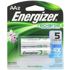 Energizer Rechargeable Power Plus AA 2300 mAh Batteries - 2 Pack