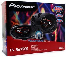 "PIONEER TS-R6950S 6""X9"" 300W 3-WAY COAXIAL CAR AUDIO STEREO AMPLIFIER SPEAKERS"