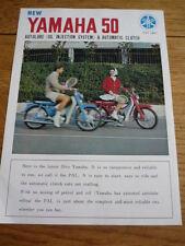 """YAMAHA 50cc """"PAL"""" MOTORBIKE BROCHURE   jm"""