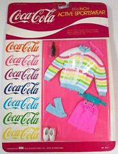 "Coca-Cola Active Sportswear Ensemble for 11.5-12.5"" Barbie or Fashion Dolls (N.."