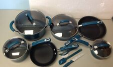 Rachael Ray Brights 13-pc. Nonstick Cookware Set READ/See Photos