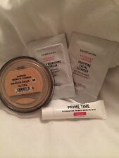 Bare Minerals Escentuals Medium Beige Foundation N20  and Sample Primer Lot.