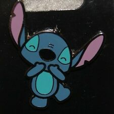 Disney Stylized Cute Character Stitch Laughing Pin NEW ON ORIGINAL CARD