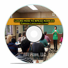 Learn How To Speak Korean, Fluent Foreign Language Training Class, DVD E05