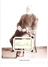 Frederick Grant - Autograph Army General Son of Ulysses S. Grant