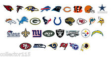 "NFL  2"" cupcake Edible Toppers Football Game Day Sports Choose Your Team"
