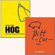 Pitt Cue Co. The Cookbook 2 Books Collection Set Hog Proper Pork Recipes NEW