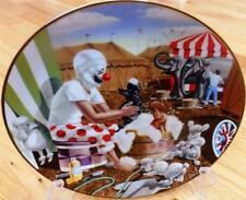 Ron Lee Toby Clown Poodle Plate Cleanliness Is Next To Impossible Plate + COA