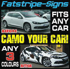 CAR CAMO KIT GRAPHICS STICKERS DECALS BONNET ROOF AUDI BMW FORD VAUXHALL HONDA