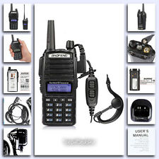 Portable Handheld Transceiver Scanner Radio Police Fire Dual Band Memory Display