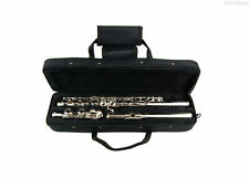 New 2016 NICKEL FLUTE w/CASE, YAMAHA Kit & ELECTRONIC TUNER BAND STUDENT