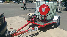 Fire fighting trailer/water transfer unit