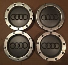 AUDI A2 A3 A4 A6 A8 TT RS4 ALLOY WHEEL CENTRE HUB CAPS 8D0 601 165K 8D0601165K