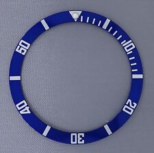 Blue Bezel Insert to fit Seiko 6105, 6309, 7002 & SKX007, 009, 173, A35, 001....