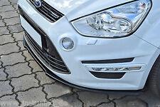 Sonderaktion Spoilerschwert Frontspoilerlippe Cuplippe ABS für Ford S-MAX ABE