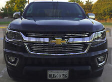 2015-2017 Chevy Colorado chrome grille horizontal grill insert overlay