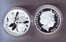 2001 Silver $5 Proof Coin Federation Spence Anderson Nicholis ex Masterpieces