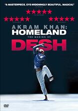 AKRAM KAHN - HOMELAND - THE MAKING OF DESH - DVD - REGION 2 UK