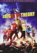 THE BIG BANG THEORY STAGIONE 5 (3 DVD) COFANETTO SERIE TV