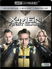X-Men: First Class (DVD, 2016, 4K Ultra HD Blu-ray/Blu-ray)