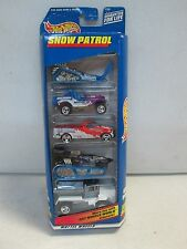 Hot Wheels 5 Car Gift Pack Snow Patrol w jeep