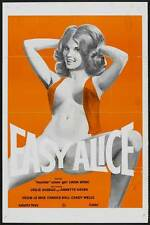 EASY ALICE Movie POSTER 27x40 Linda Wong Leslie Bovee Annette Haven Nan Johnson
