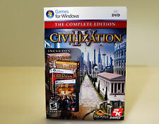 (NEW) Sid Meier's Civilization IV: The Complete Edition (PC, 2009)