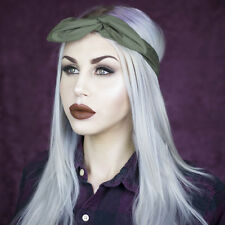 Khaki Green - Army Girl Rockabilly Pin up wire headband