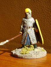 Painted 28mm Gripping Beast Norman lead a