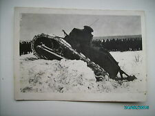 ESTONIA PRE WW II , LIGHT TANK no.57 , SMALL SIZE REAL PHOTO