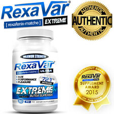 60 X Rexavar Extreme Pills Male Penis Enhancement Clinically Proven 100% Genuine
