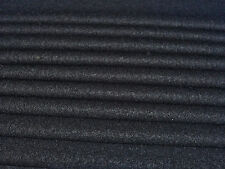 ITALIAN BOILED WOOL -BLACK-COATING FABRIC -FREE P+P