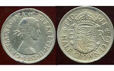 ROYAUME UNI  half crown 1956 ( ter )