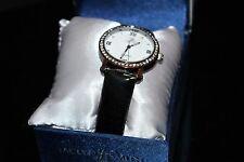 Jaclyn Smith Ladies' Round Bezel w/ Crystals Stone Accent Wristwatch Watch