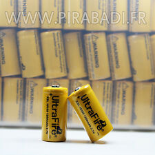 BATTERIE RECHARGEABLE PILE ACCUS AW XSL 18350 1200mAh 3,7V li-ion ULTRAFIRE