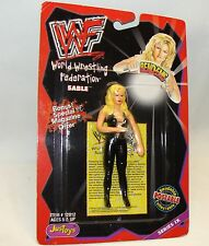 """4""""  Justoys WWF WWE Sable Action Figure Bendable Poseable BendEms"""