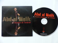 CD SINGLE ABD AL MALIK L envers et l endroit  PROMO 7508