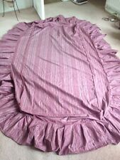 Cover/Valance for single bed + cover for round table or otherwise material