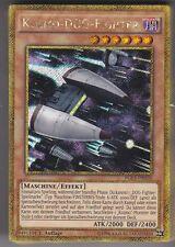 YU-GI-OH Kozmo Dog Fighter Gold Secret Rare PGL3-DE030