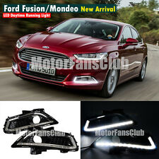 LED Daytime Running Light For Ford Fusion Mondeo Fog Lamp DRL 2013 2014 2015 #LY