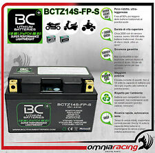 Batteria Moto Litio BC LifePO4 BCTZ14S-FP-S Battery Lithium per KMX14-BS