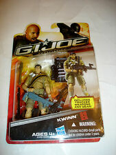 Hasbro GI Joe Retaliation Kwinn Action Figure MIP NEW Movie 2012