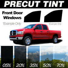 PreCut Window Film for Ford F350 Crew 00-07 Front Doors any Tint Shade