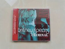 "Britney Spears ""Criminal"" Remix EP 5-Track CD China NEW"